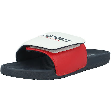 Leary II Sandals, white/red