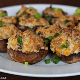 Sausage Cream Cheese Stuffed Mushrooms Recipes.