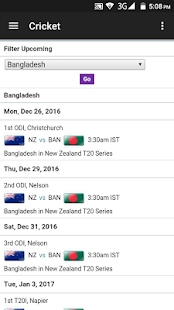 All Cricket Updates - LIVE˚- screenshot thumbnail