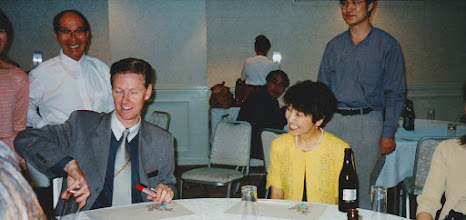 Photo: 2001.08 Marcus & Hisako after the Party