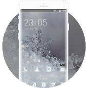 Pure and transparent snowflake theme flower APK
