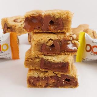Caramel Peanut Butter Cookie Bars.