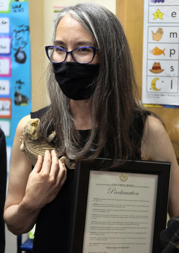 Governor honors New Mexico Teacher of the Year