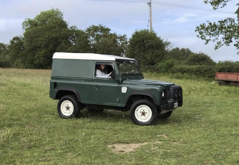 Land Rover Defender 90 Hire Heathfield