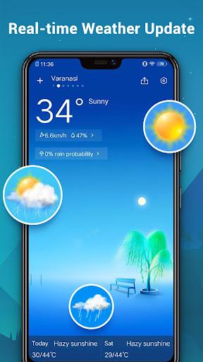 Weather Forecast - Daily Live Weather & Radar 1.1.3 screenshots 2