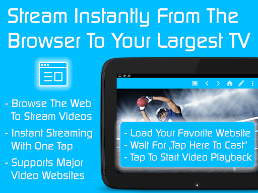 Video & TV Cast | Fire TV - Web Video Cast Browser 2.15 screenshots 6