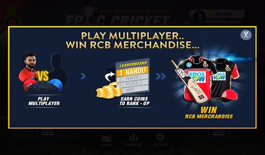 RCB Epic Cricket – The Official Game 2
