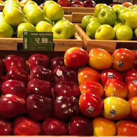 Apple display by Marla Kaufman - Food & Drink Fruits & Vegetables
