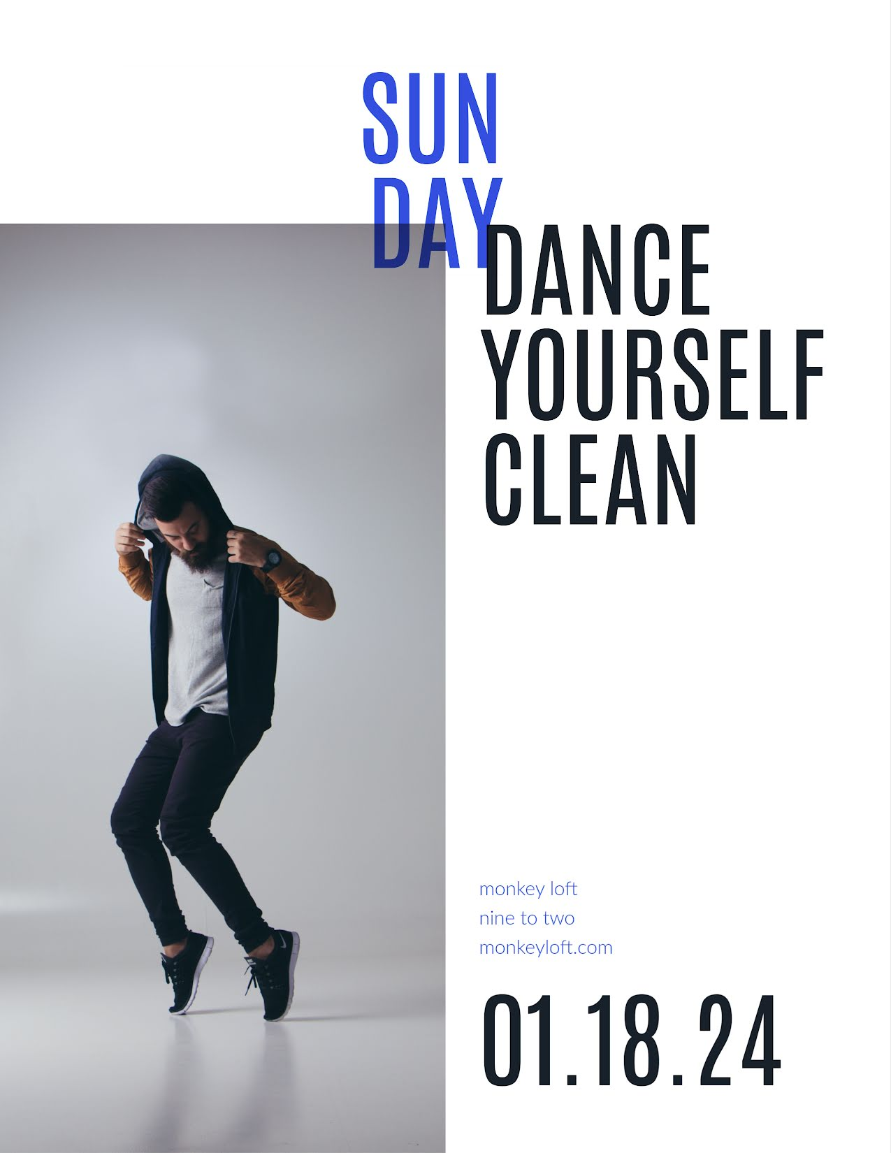 Dance Yourself Clean - Flyer Template