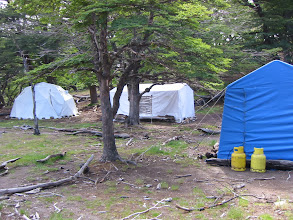 Photo: A little light camping