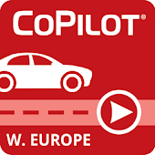 CoPilot Europe l'Ouest GPS