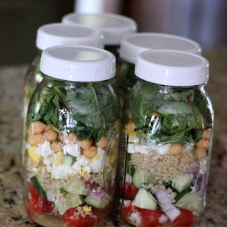 Protein Power Mason Jar Salad Recipe