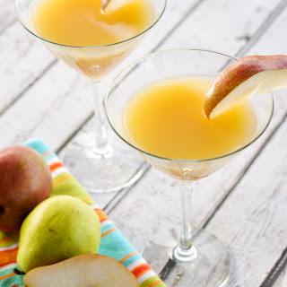 Elderflower Peartini aka French Pear Martini