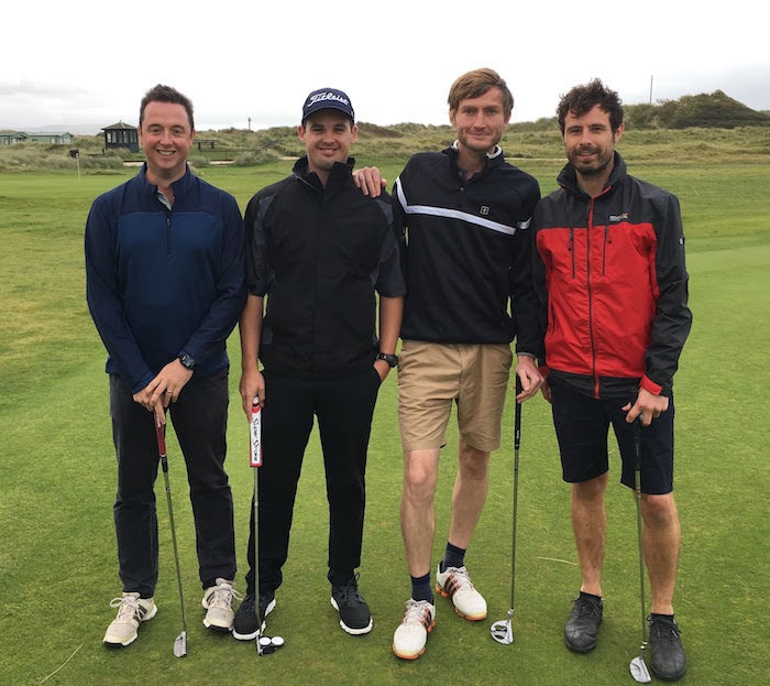 Charity golf day raises £1,800 for air ambulance