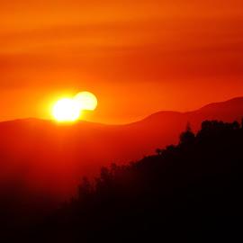 Santiago Chile  by Marcello Toldi - Landscapes Sunsets & Sunrises