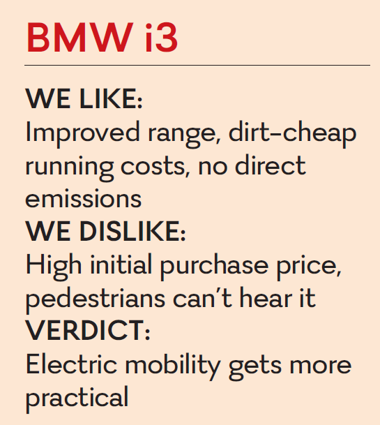 Bmw I3 Charged For Longer Drive Time