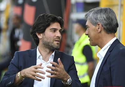 Felice Mazzù va à la confrontation avec Mehdi Bayat et va avoir une discussion avec lui