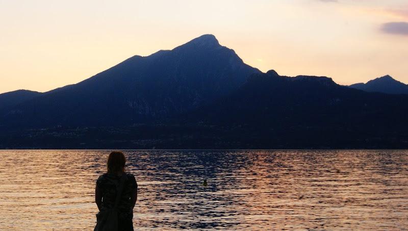 Lago di Garda al tramonto di Fusa_Fuss