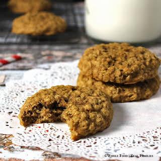 Cinnamon Maple Oatmeal Cookies.