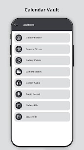 Calendar Vault – Photo Video Audio Locker Apk Download for Android 7