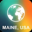 Maine, USA Offline Map icon