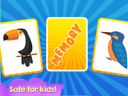 Memory Game for Children - Birds - náhled