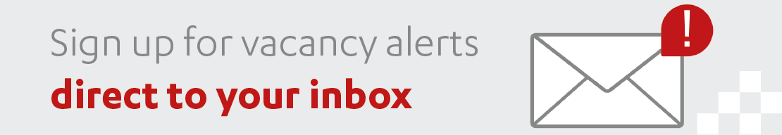 Sign up for vacancy alerts direct to your inbox