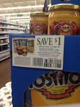 Photo: ooo... coupon!  I didn't pick one up cause i don't care for their dip, but i did grab two bags of chips.
