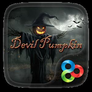 Devil Pumpkin GOLauncher Theme