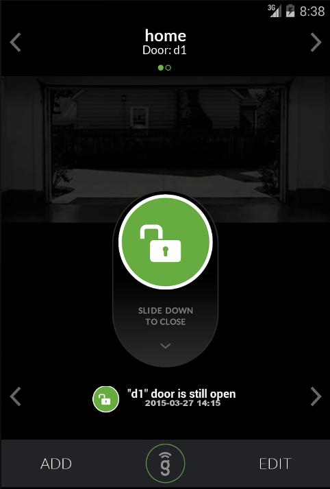 Gogogate 2 open garage door android apps on google play for App to open garage door