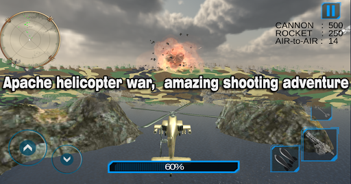 Helicopter Simulator 3D Gunship Battle Air Attack 3.9 de.gamequotes.net 2