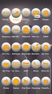 Fovea Yellow Icons Pack..... - náhled