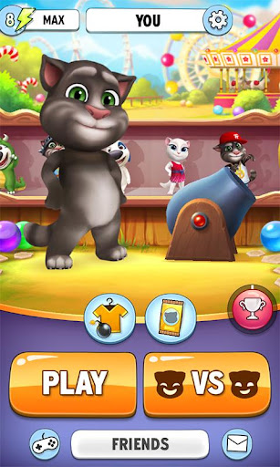 Talking Tom Bubble Shooter screenshot 5