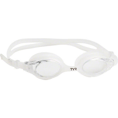 TYR Big Swimple Goggle: Clear Frame/Clear Lens