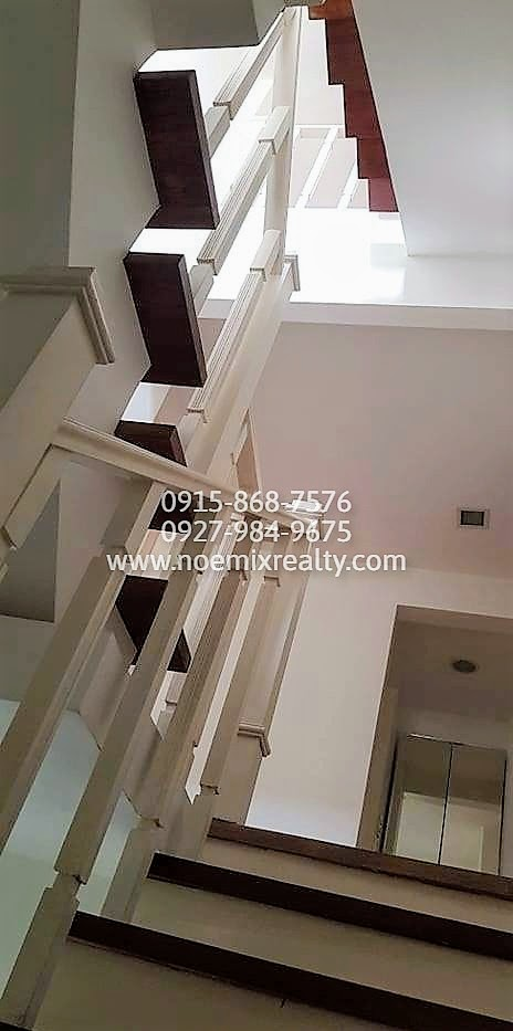 House and lot in West Fairview, Quezon City staircase