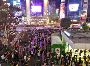 Photo: Busiest intersection I've even seen (Shibuya, Tokyo, on Halloween)