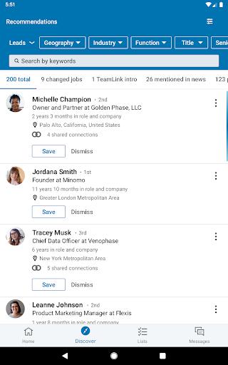 LinkedIn Sales Navigator 6.8.7 screenshots 10
