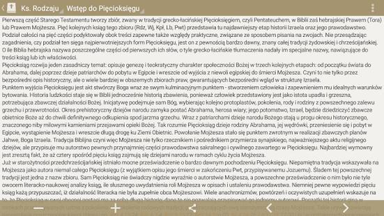 Pismo Święte PL (wer. prosta) - náhled