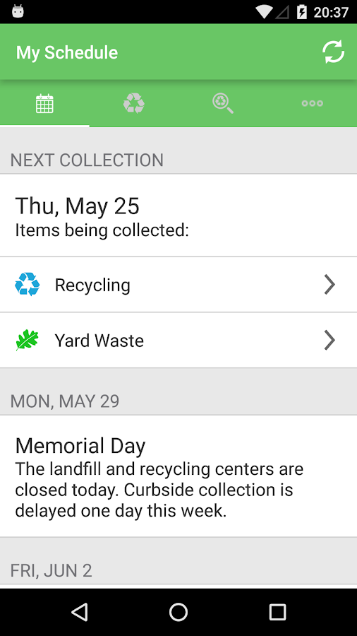 Charles County RECYCLES- screenshot