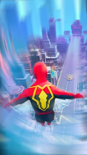 Super Heroes Fly: Sky Dance - Running Game apkslow screenshots 9