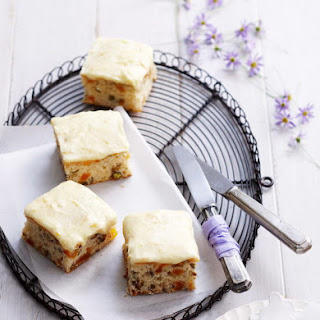 Apricot and Pistachio Bars