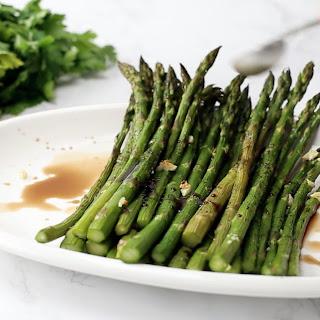 Honey-Balsamic Asparagus.