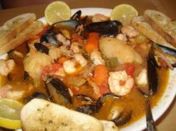 Cuban Mariners Soup/ Sopa Marinera Cubana