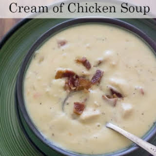 Crock Pot Cream of Chicken Soup.