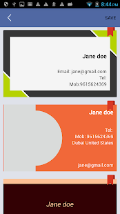 Business Cards Info (BCi)- screenshot thumbnail