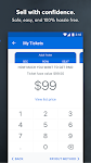 screenshot of Ticketmaster Event Tickets