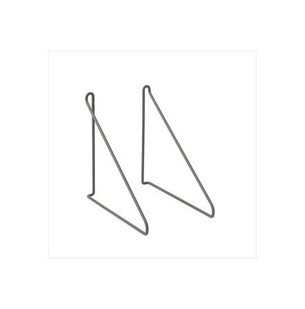 PANOLA Set/2 Konsoler, Steel Gray