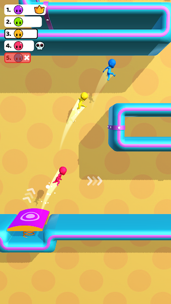 Run Race 3D Android App Screenshot