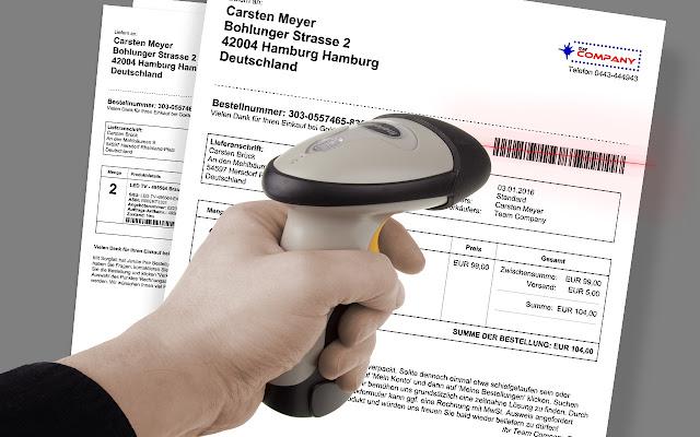 Barcodes & address labels for seller central