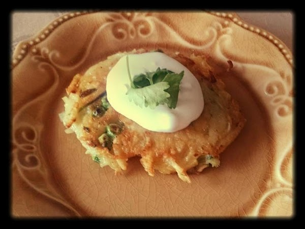 Pea And Potato Pancakes W Lemon Sour Cream Recipe